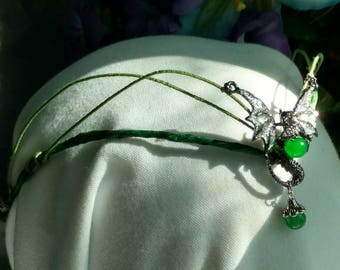 Dragon headpiece- Crown- Tiara- Elvin