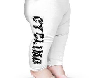 Cycling Baby Printed Leggings Trousers