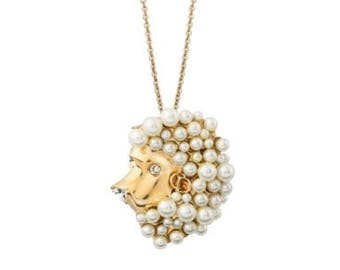 Dior lion horoscope Zodiac necklace