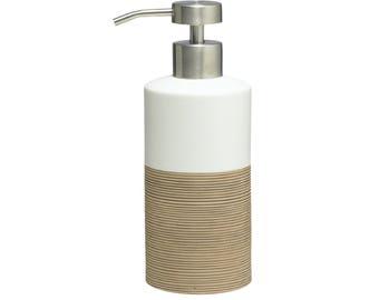 Countertop Soap And Lotion Dispenser Sealskin Doppio Beige