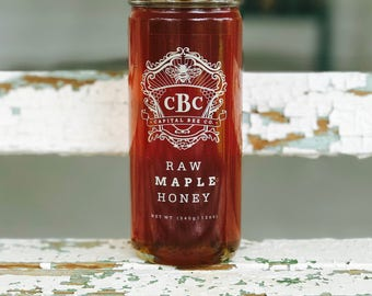 Raw Maple Honey 12oz