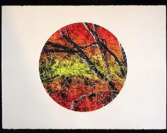 Kalga Orchard Silkscreen art print