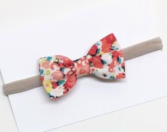 Floral Baby Headband - Summer Floral - Baby Headband - Clips or headbands