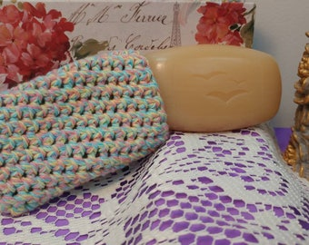 Soap Saver, crochet, soap sock, wash and go,soap sack