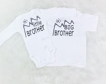 big brother/little brother shirts/matching brother shirts/cute brother shirts