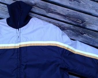 Vintage 70's / 80's Ski Doo Parka Bomber Jacket Made in Canada