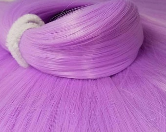 Etsy Celebration Sale Espeon Orchid Purple Nylon Doll Hair Hank for Rerooting for Barbie® Monster High® Ever After High® My Little Pony Fash