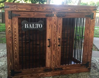 Rustic Custom Kennels