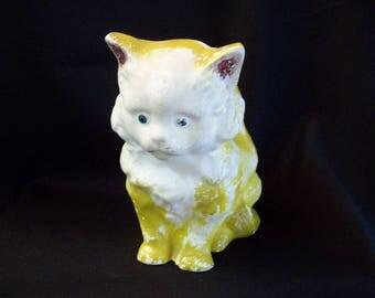 1940's Chalkware Cat