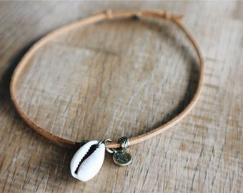 Anklet shell Brown