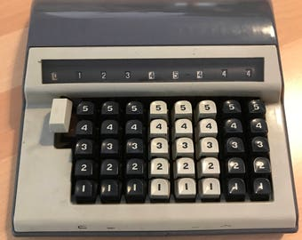 Contex model B calculator CA. 1960, Denmark