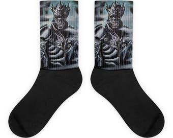 Skeleton Warrior Socks
