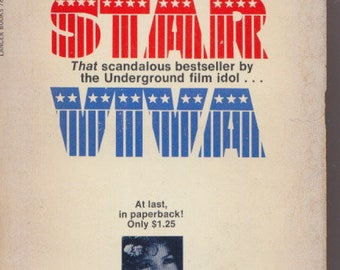 SUPERSTAR ~ VIVA 1st 1970 Andy WARHOL The Factory underground film association/ paperbound
