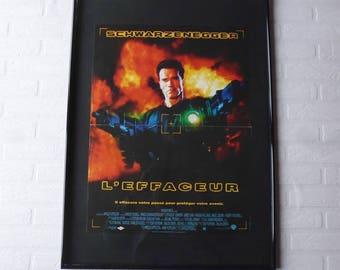 1996 Arnold Schwarzenegger L'effaceur original movie poster