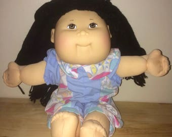 Vintage asian cabbage patch kid 1982-1987 coleco