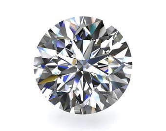Loose Colorless Moissanite Diamond Cut Round - Celestial Premier Moissanite