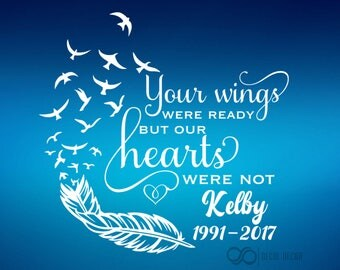 Your wings were ready but our hearts were not l Kelby Calhoun
