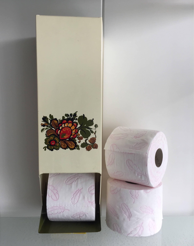 Toiletrolhouder retro badkamer toilet rolhouder vintage - Vintage badkamer ...