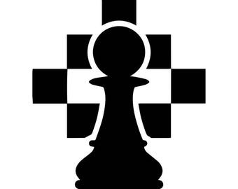 chess pieces svg etsy