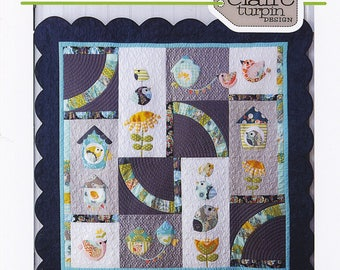 Birdsong Quilt Pattern by Claire Turpin Designs,