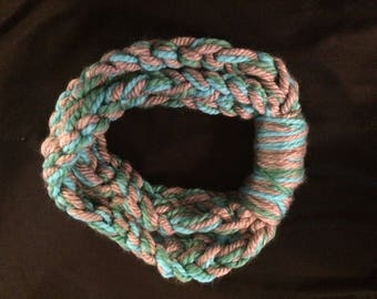 Braided scarf/ necklace scarf