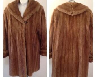 On Sale Lovely Vintage Mink Coat