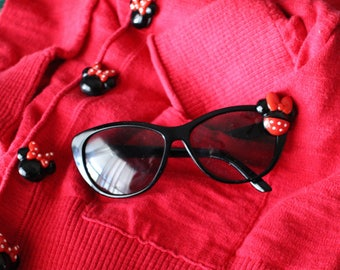 Womens Cat Eye Disney Minnie Mouse Sunglasses
