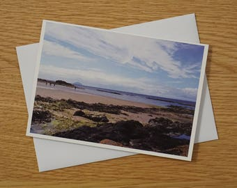 Scottish Landscapes Greetings Card - A6 - Culzean Beach - Blank Card - Any occasion