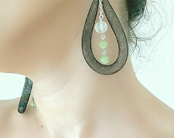 Fantastic black and green pendants!!!! Gift for You