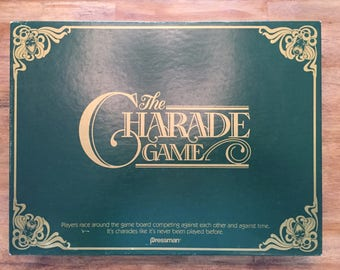 1985 Complete The Charade Game by Pressman #4437