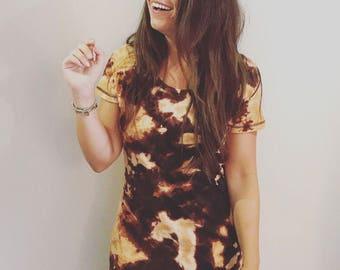 Reverse Dye Skinnifit T-Shirt Dress