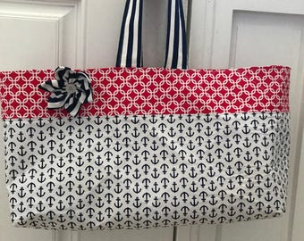 Nautical tote/purse