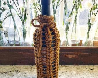 Crochet Wine Bottle Cover
