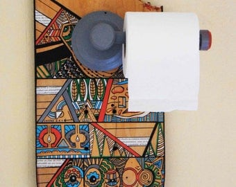 Holder for toilet paper