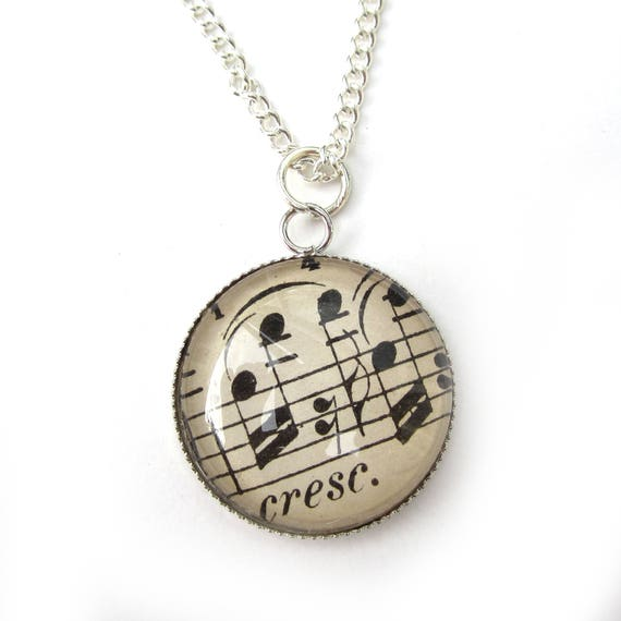 Necklace - Music variations 20 mm