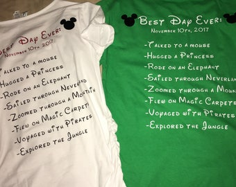 Best day ever! Disney inspired Park day shirt