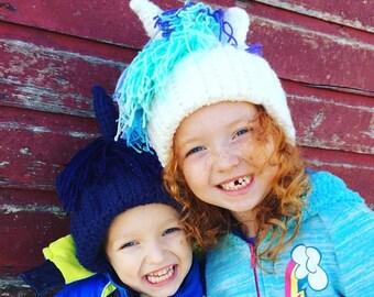 Crocheted Hat - MLP Princess Luna or Celestia