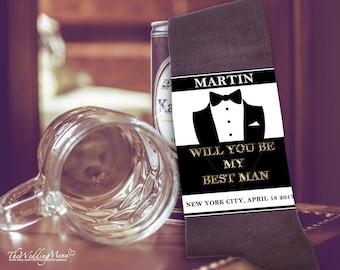 Asking best man sock, Best man proposal, Asking groomsmen, Groomsmen proposal, Ask groomsmen, Be my groomsman, Best man gift, Best man socks