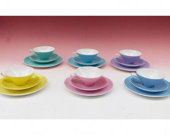 Coffee table settings 6 PCs. 50 he j. pastel