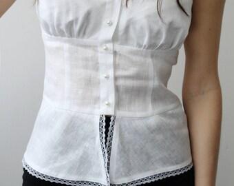 Linen Blouse for Women