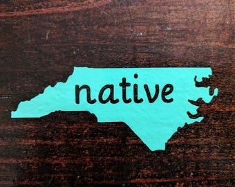 North Carolina Native Decal