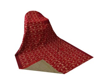 Twin Size Cotton Sari Kantha Blanket Vintage Kantha Quilt