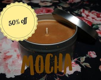 Mocha Homemade Soy Wax Candle