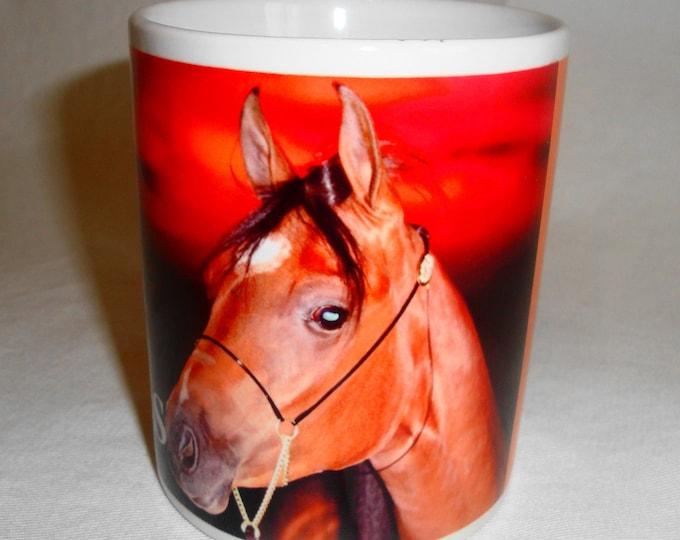 Beautifully Designed 'I Love Horses'Mug