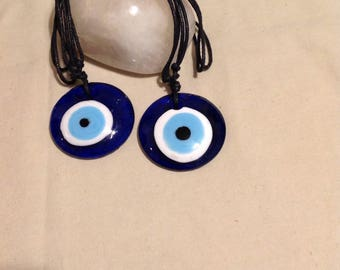 Maurono glass eye necklace