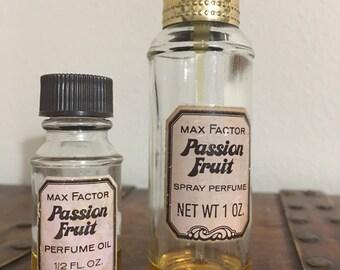 Vintage Max Factor Passion Fruit pair