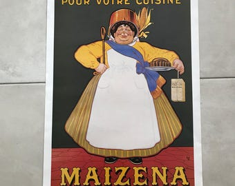 "Vintage French Poster for ""Maizena"" Corn 1701181"
