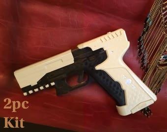 Ghost in The Shell Major's Thermoptic Pistol Scarlett Johansson Motoko Kusanagi Gun