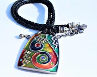 Chicos Art Deco Necklace