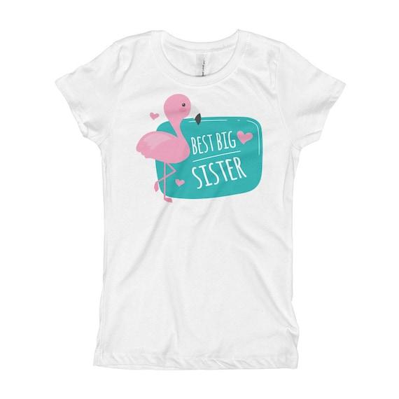 Best Bis Sister Girl's T-Shirt, Big Sister Shirt, Big Sister Announcement, Big Sister t-shirt, Kids clothing, Big Sister T-shirt